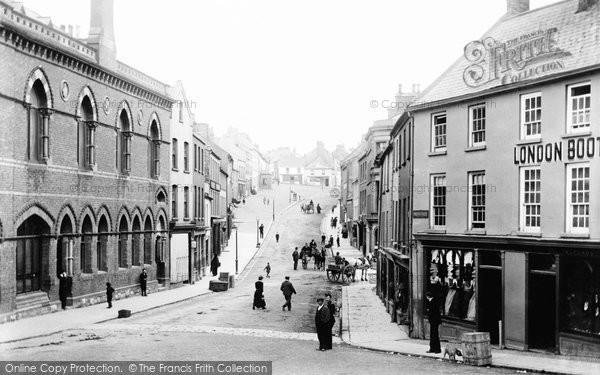 Photo of Downpatrick, Irish Street 1900