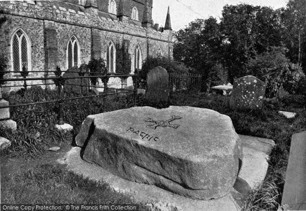 Photo of Downpatrick, St Patrick's Grave c.1900