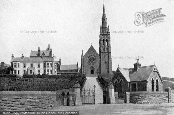 Photo of Downpatrick, St Patrick's Memorial Church c.1900