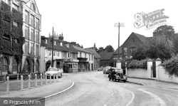 Downton, High Street c.1955