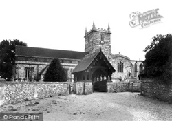 Downton, St Lawrence's Church c.1955