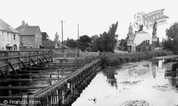Downton, Tannery Bridge c.1955