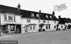 Downton, The Bull Hotel c.1955