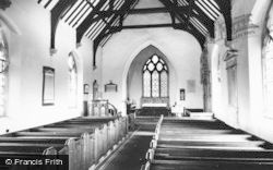 Drayton Bassett, Interior Of St Peter's Church c.1965