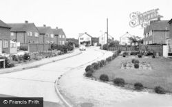Drayton Bassett, Peel Close c.1965