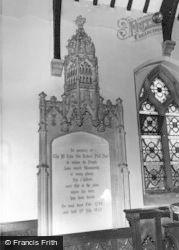 Drayton Bassett, Sir John Peel Plaque c.1965