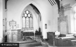 Drayton Bassett, St Peter's Church Interior c.1965