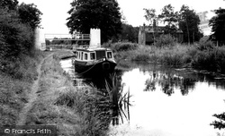 Drayton Bassett, The Canal And Swing Bridge c.1965
