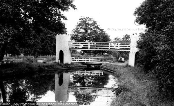 Photo of Drayton Bassett, The Canal And Swing Bridge c.1965