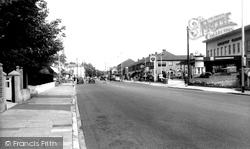 Drayton, Havant Road, Looking East c.1965