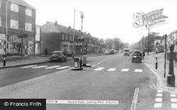 Drayton, Havant Road, Looking West c.1965