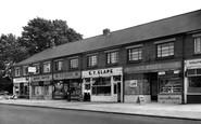 Drayton, the Broadway, Havant Road c1955