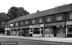 Drayton, The Broadway, Havant Road c.1955