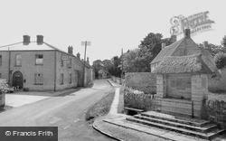 Drayton, Village And War Memorial c.1955