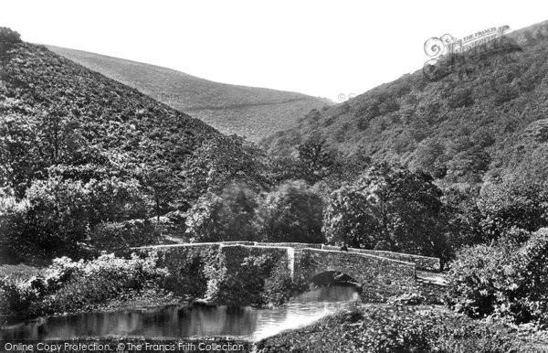 Drewsteignton, Fingle Bridge and Gorge of the Teign c1940