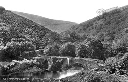 Drewsteignton, Fingle Bridge And Gorge Of The Teign c.1940