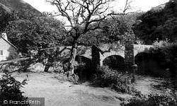 Drewsteignton, Fingle Bridge And Tea Rooms c.1960