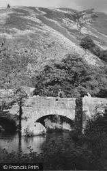 Drewsteignton, Fingle Bridge c.1960
