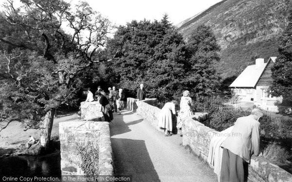 Drewsteignton, Fingle Bridge c1960