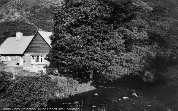 Drewsteignton, Fingle Bridge Tea Rooms c1960