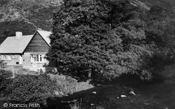 Drewsteignton, Fingle Bridge Tea Rooms c.1960