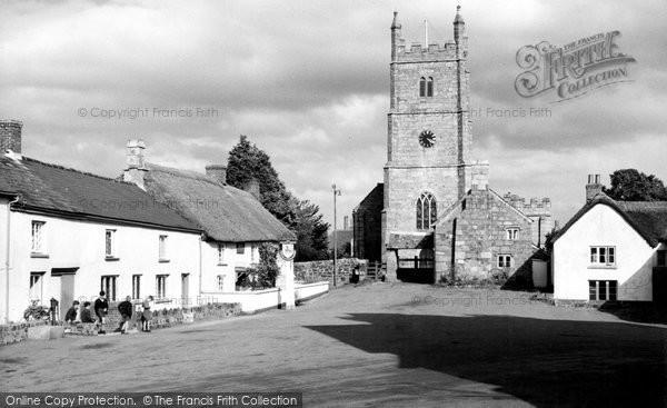 Drewsteignton, the Church c1960