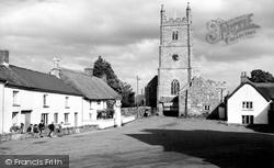 Drewsteignton, Holy Trinity Church c.1960