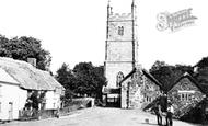 Drewsteignton, Village c1880