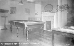 Droitwich Spa, Billiard Room, Highfield Hospital c.1935