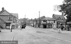 Droitwich Spa, Birmingham Road c.1955