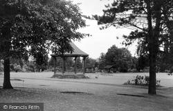 Droitwich Spa, Brine Baths Park c.1955