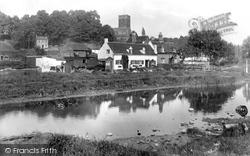Droitwich Spa, Dodderhill Church And Vines 1931