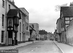 Droitwich Spa, Friar Street c.1950