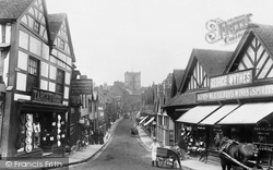 Droitwich Spa, High Street 1904