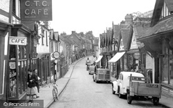 Droitwich Spa, High Street 1949