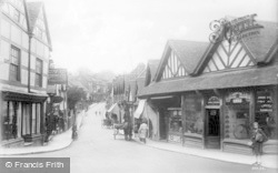 Droitwich Spa, High Street c.1920