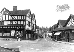 Droitwich Spa, High Street c.1950