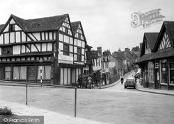 Droitwich Spa, High Street c.1955