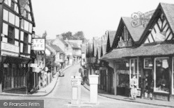 Droitwich Spa, High Street c.1960