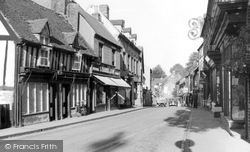 Droitwich Spa, High Street c.1966