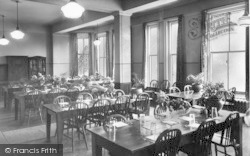 Droitwich Spa, Highfield Hospital, The Dining Room c.1960
