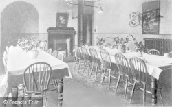 Droitwich Spa, Men's Dining Room, St John's Hospital c.1935