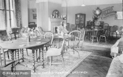 Droitwich Spa, Men's Sitting Room, Highfield Hospital c.1935