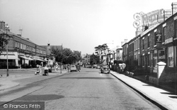 Droitwich Spa, Ombersley Street c.1960