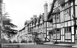 Droitwich Spa, Raven Hotel c.1960