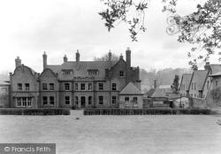 Droitwich Spa, Royal Brine Baths Clinic, Rear View c.1955