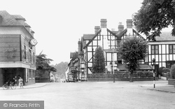 Droitwich Spa, Spa Raven Hotel And Salters Cinema c.1955