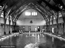 Droitwich Spa, St Andrew's Brine Baths, Men's Swimming Bath c.1905