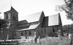 Droitwich Spa, St Nicholas Church c.1960