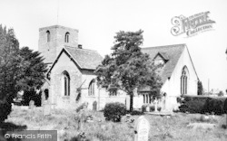 Droitwich Spa, St Peter's Church c.1960